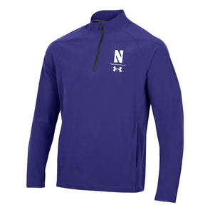 Northwestern Wildcats Under Armour Squad Coaches Quarter Zip