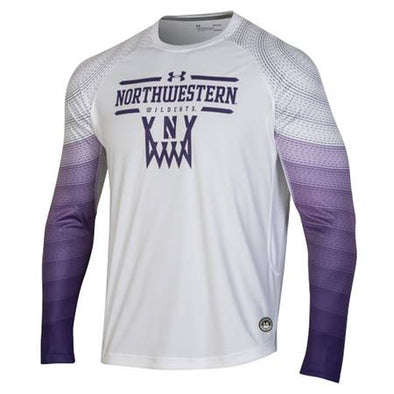 Northwestern Wildcats Under Armour Basketball Shooting Shirt