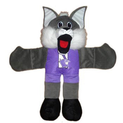 Northwestern Wildcats Hug A Willie