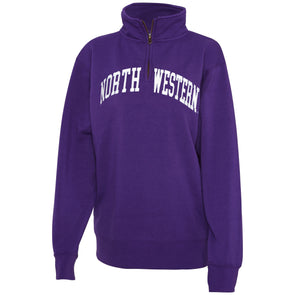 Northwestern Wildcats Tackle Twill Quarter Zip