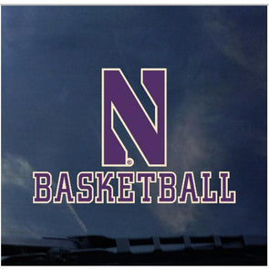 Northwestern Wildcats Basketball Decal