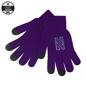 Northwestern Wildcats IText Knit Texting Glove