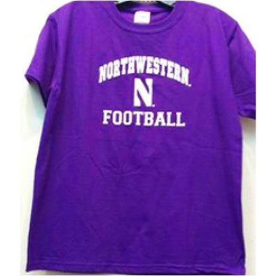Northwestern Wildcats Football Youth Gameday T-Shirt