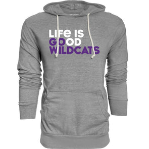 Northwestern Wildcats Life Is Good Lightweight Hood