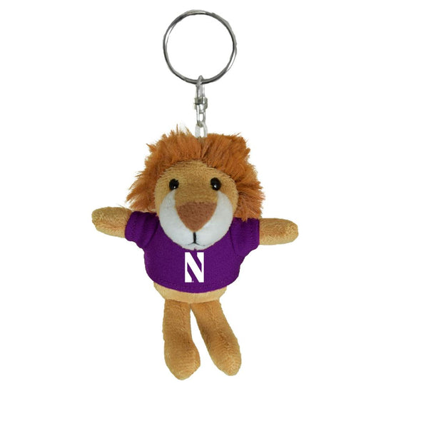 Northwestern Wildcats Lion Keychain