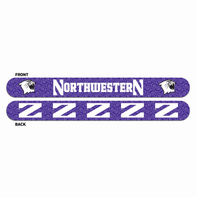 Northwestern Wildcats Nail File