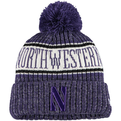 Northwestern Wildcats Polar Knit Beanie Hat