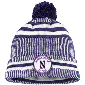 Northwestern Wildcats New Era Sport Knit Hat