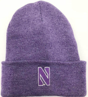 Northwestern Wildcats Lavender Knit Hat