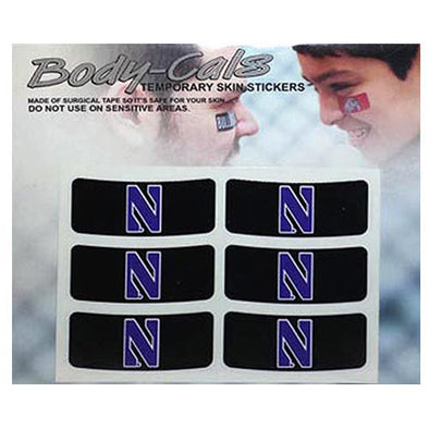 Northwestern Wildcats Body-Cals Eye Black