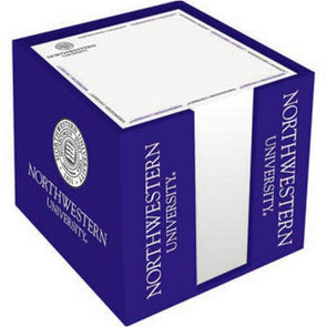 Northwestern Wildcats Note Cube Holder
