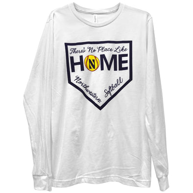 Northwestern Wildcats No Place Like Home Softball Tee
