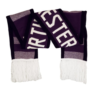 Northwestern Wildcats Reversible Scarf