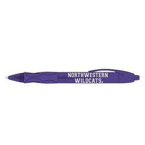 Northwestern Wildcats Bic Ink Color Ballpoint Pen
