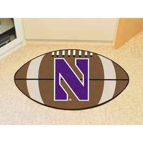 Northwestern Wildcats Football Mat