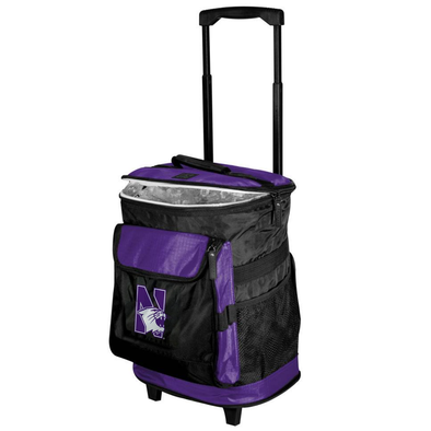 Northwestern Wildcats Rolling Cooler