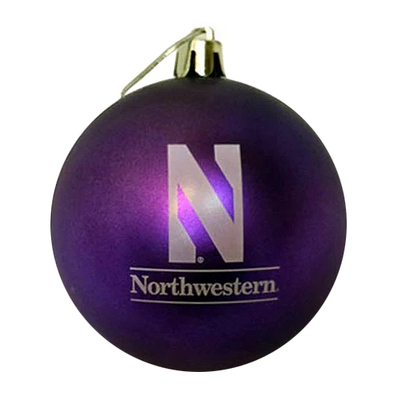 Northwestern Wildcats N Ornament