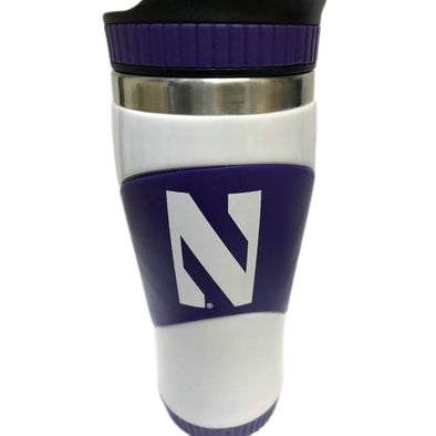 Northwestern Wildcats School Spirit Travel Tumbler