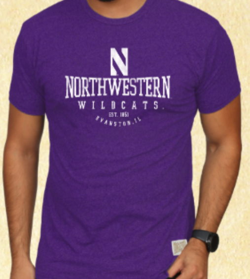 Northwestern Wildcats Twist Tee