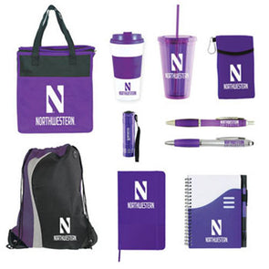 Northwestern Wildcats Perfect 10 Student Welcome Package