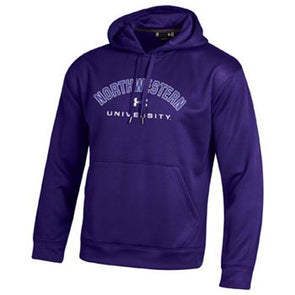 Northwestern Wildcats Under Armour® Purple Fleece Hoodie