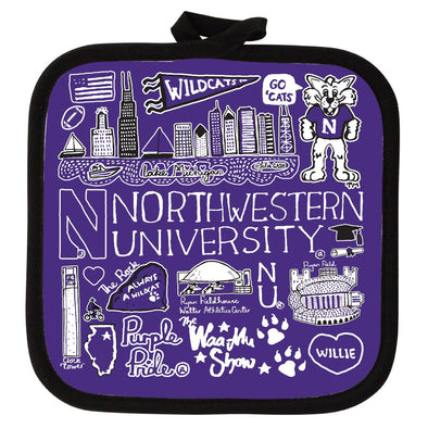 Northwestern Wildcats Pot Holder