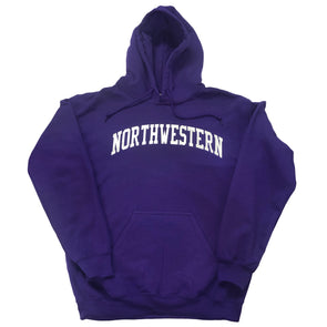 Northwestern Wildcats Purple Arch Hooded Sweatshirt