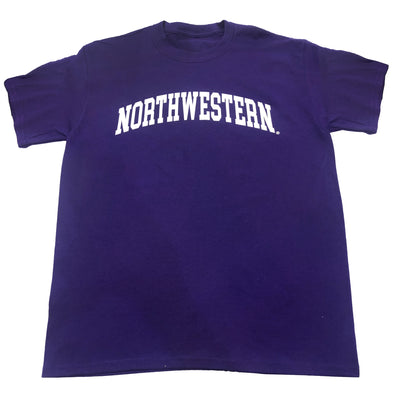 Northwestern Wildcats Purple Arch T-Shirt