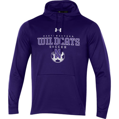 Northwestern Wildcats Under Armour Purplel Soccer Hood-Adult