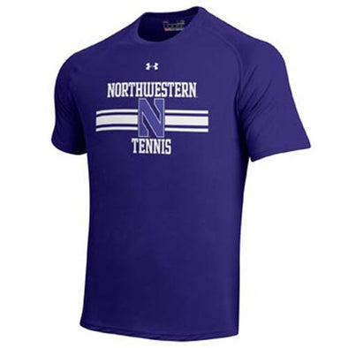 Northwestern Wildcats Under Armour® Purple Tennis T-Shirt
