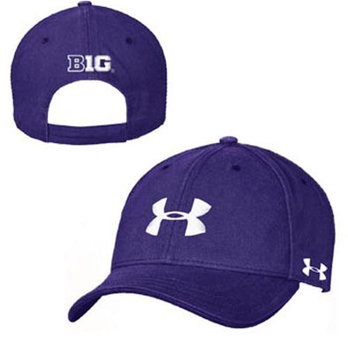 Northwestern Wildcats Under Armour® Purple Youth Big Ten Hat