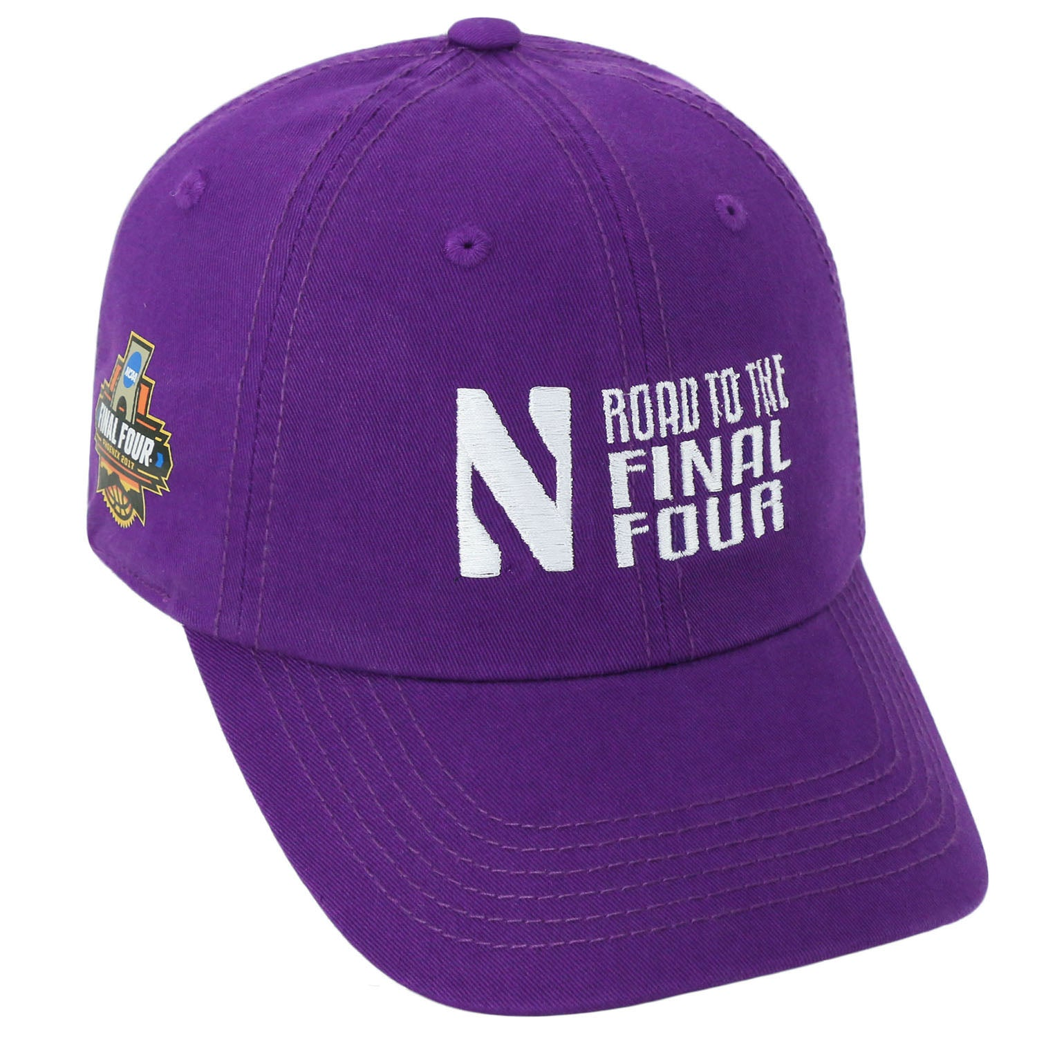 sale retailer ccbb0 18df8 Northwestern Wildcats Road To The Final Four Hat – Northwestern Official  Store