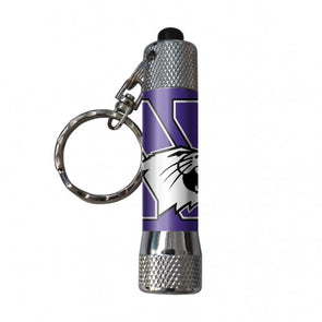 Northwestern Wildcats Keychain Flashlight