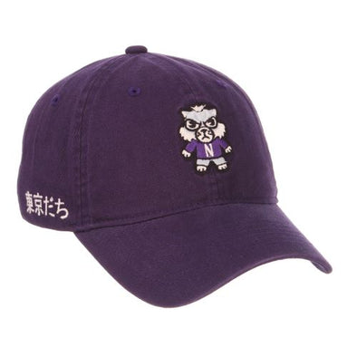 Northwestern University Wildcats Shibuya (Tokyodachi) Hat