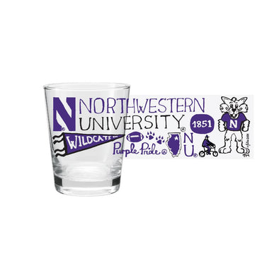 Northwestern Wildcats Shot Glass