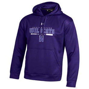 Northwestern Wildcats Under Armour® Softball Purple Batter Up Hoodie