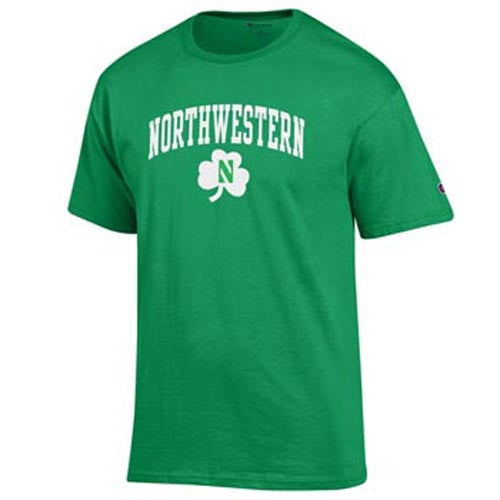 Northwestern Wildcats St. Patrick's Day T-Shirt