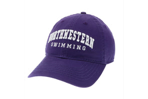 Northwestern Wildcats Swimming Cap