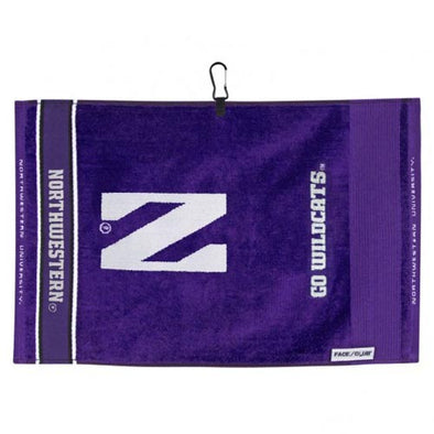 Northwestern Wildcats Jacquard Golf Towel