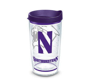 Northwestern Wildcats Tradition Tervis Tumbler:  16 oz.