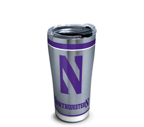 Northwestern Wildcats Stainless Steel Tumbler-30 oz.