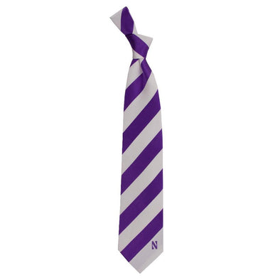 Northwestern Wildcats Regiment Tie