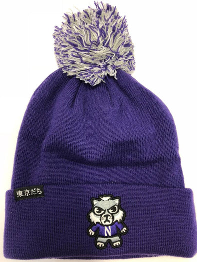 Northwestern Wildcats Tokyodachi Knit