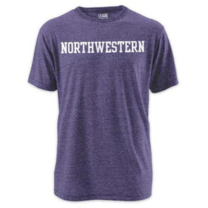 Northwestern Wildcats Twisted Tri-Blend T-Shirt