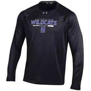 Northwestern Wildcats Under Armour® Baseball Performance Crew