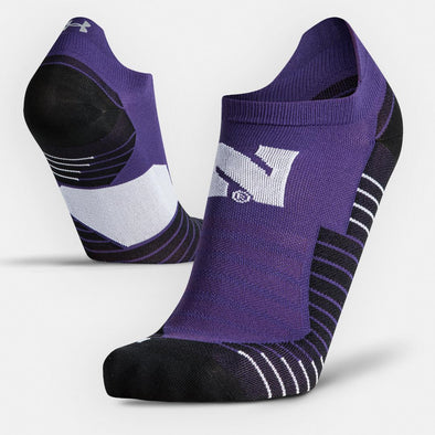 Northwestern Wildcats Under Armour Run Socks