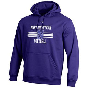 Northwestern Wildcats Under Armour® Purple N Softball Hoodie