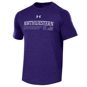 Northwestern Wildcats Under Armour Freestyle Long Line Tee