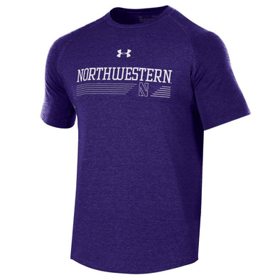 Northwestern Wildcats Under Armour Freestyle Long Line Tee 8743357c48fe