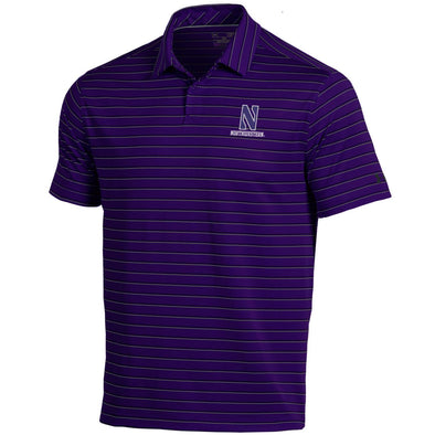 Northwestern Wildcats Under Armour® Cool-Switch Putting Stripe Polo